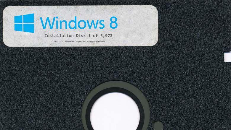 Win8 Floppy Install