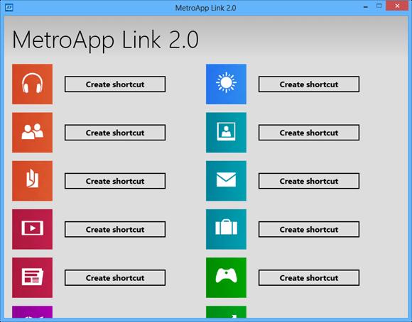 Главное окно приложения MetroApps Link
