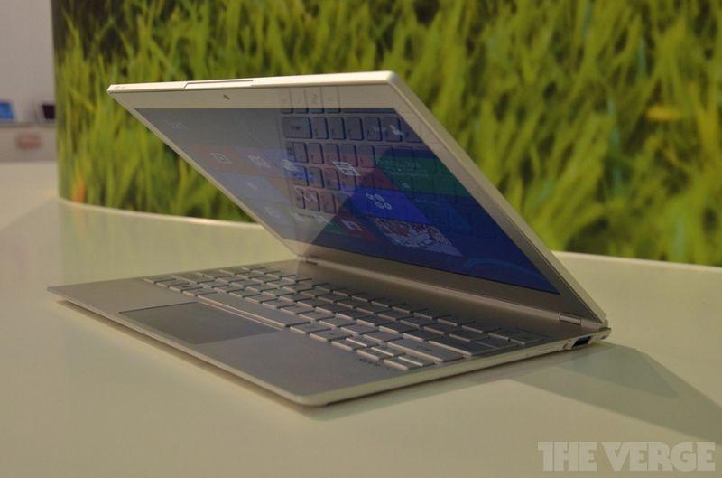 Ультрабук Acer Aspire S7 на базе новой Windows 8