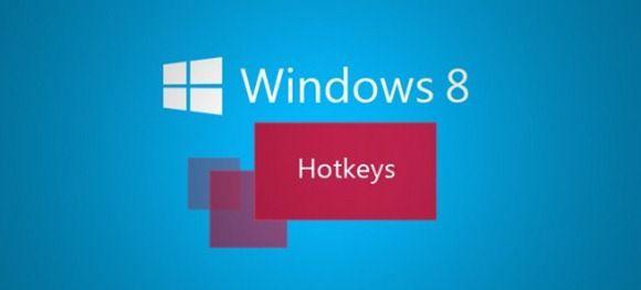 Список горячих клавиш для Windows 8