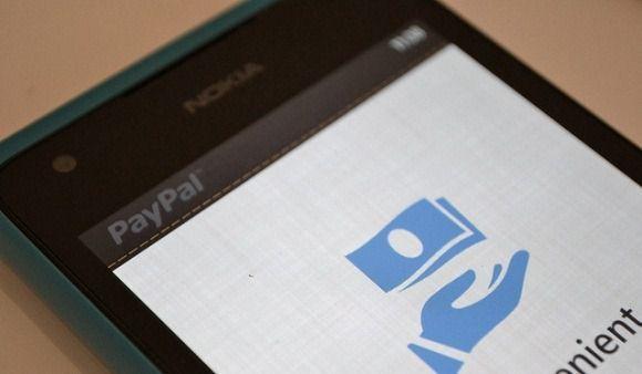 Официальное приложение PayPal для мобильной операционной системы Windows Phone