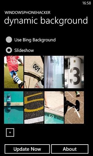 Custom Slideshows & Dynamic Bing Wallpapers For WP7 Lockscreen [Homebrew]