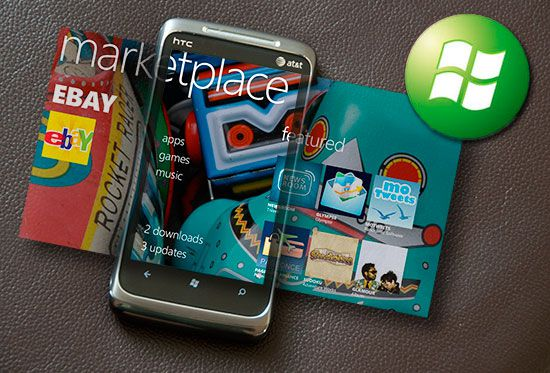 Магазин приложений для Windows Phone