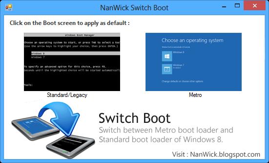 Приложение NanWick Switch Boot