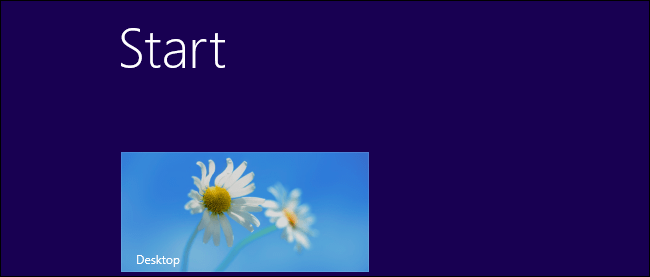 Start Screen Windows RT and Windows 8