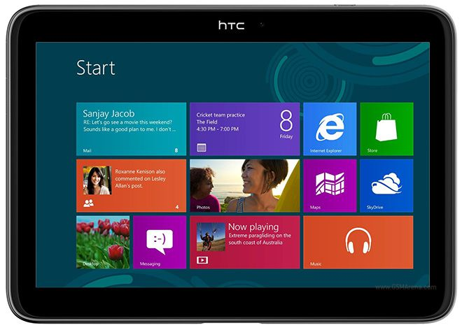 HTC Windows RT Tablet