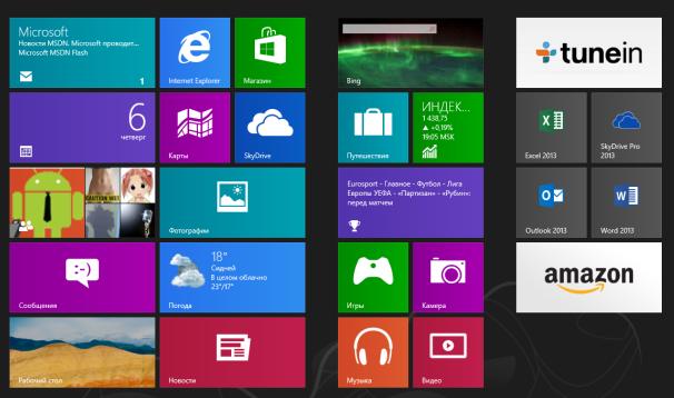 Отключаем анимацию при открытии начального экрана в Windows 8