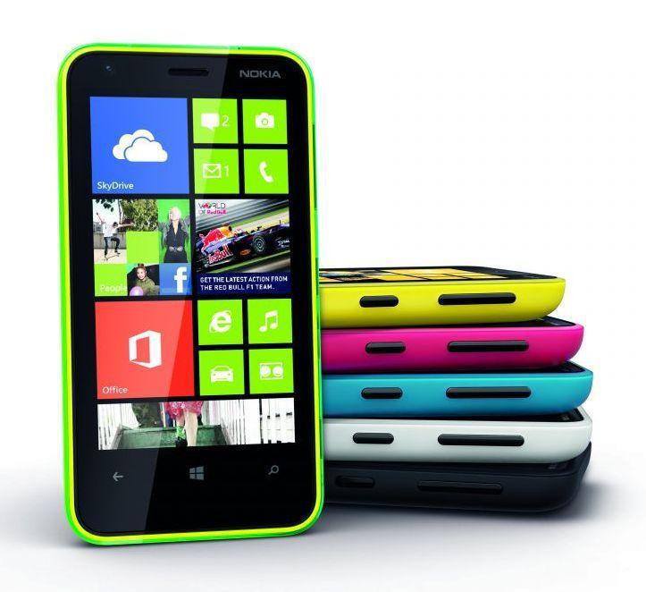 Nokia представила новый смартфон Lumia 620