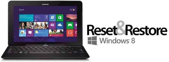 Восстанавливаем или переустанавливаем Windows 8 встроенными средствами
