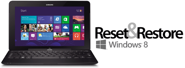 How To Restore And Reset Windows 8 To Factory Settings
