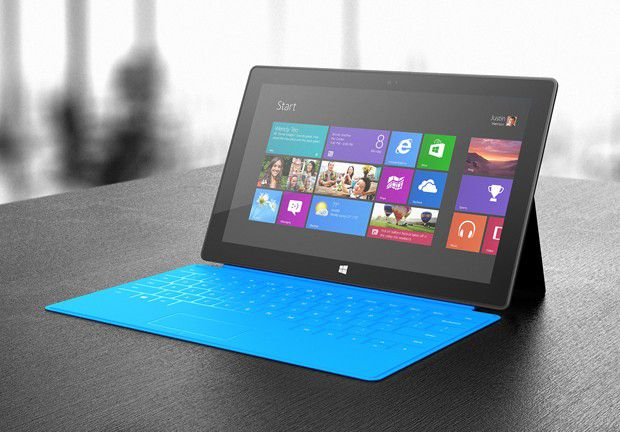 Surface Cyan Touch Cover