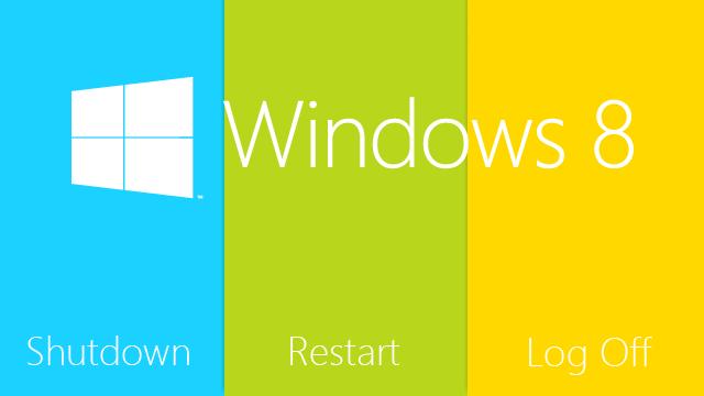 Добавляем кнопки для выхода из системы, перезагрузки и выключения ПК на стартовый экран в Windows 8