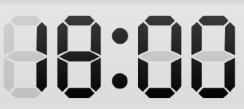 Digital Live Tile Clock