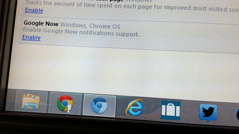 Google Now скоро в Chrome для Windows