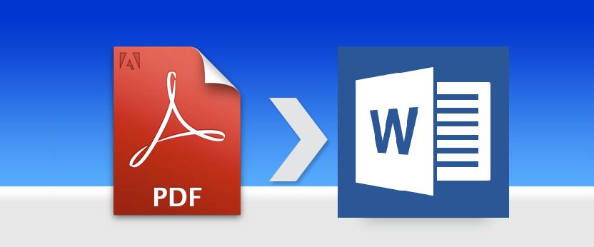 Как конвертировать PDF-файл в редактируемый документ в Word 2013