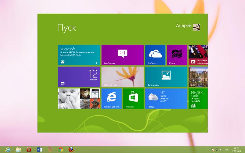 ImmersiveTaille для Windows 8