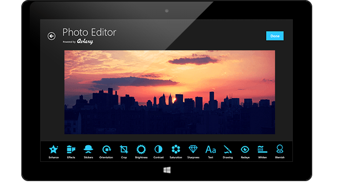 Приложение Photo Editor by Aviary для Windows 8 и RT