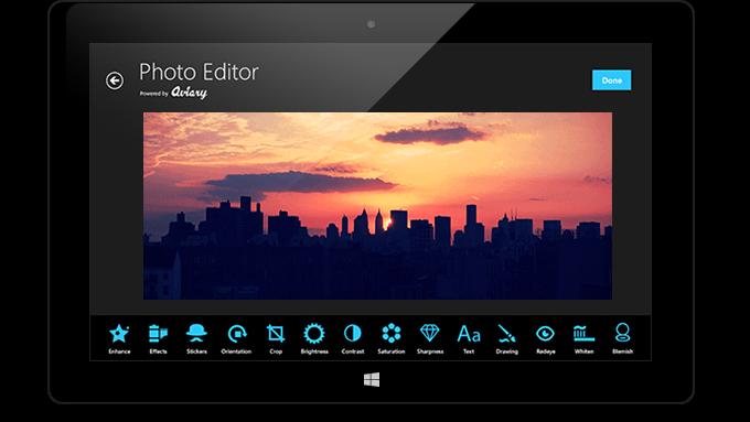 Приложение Photo Editor by Aviary для Windows 8 и RT