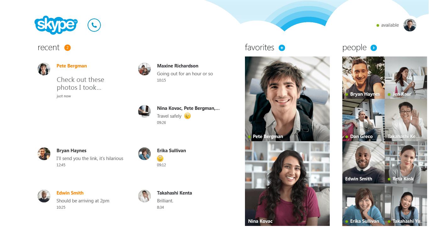 Skype Metro