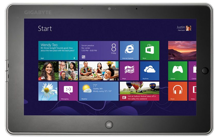 Gigabyte Windows 8 Tablet