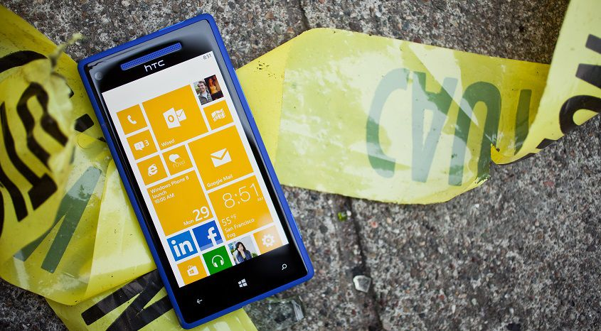 Windows Phone 8 HTC 8X