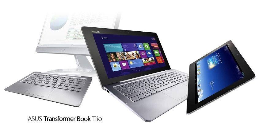 Asus Transformer Book Trio с Windows 8 и Android