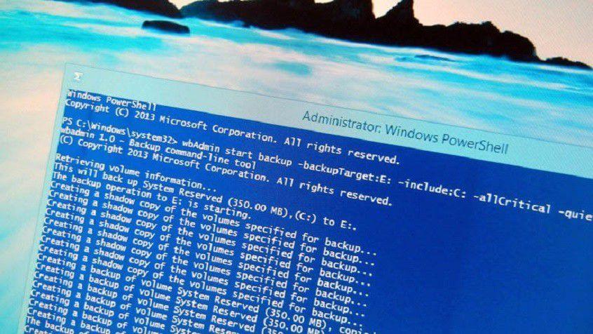 Как создать резервную копию образа системы на Windows 8.1