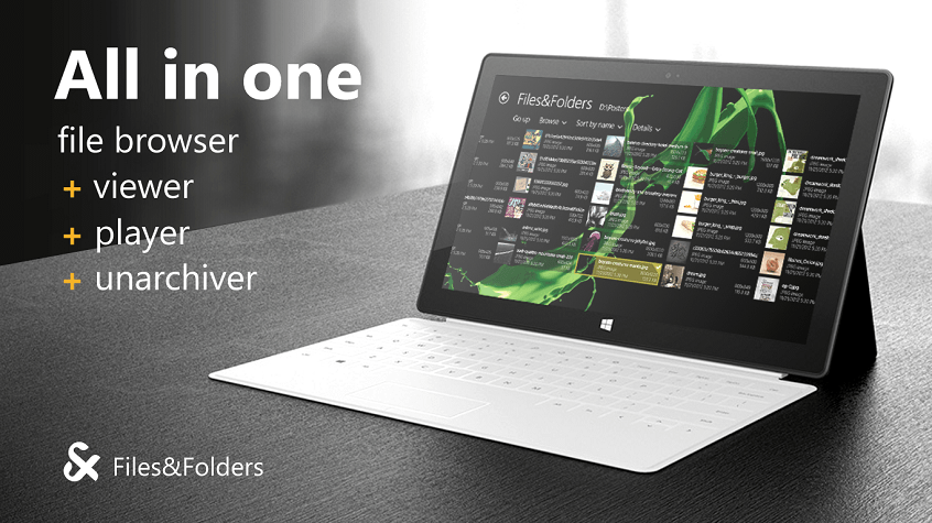 Files & Folders для Windows 8 и RT