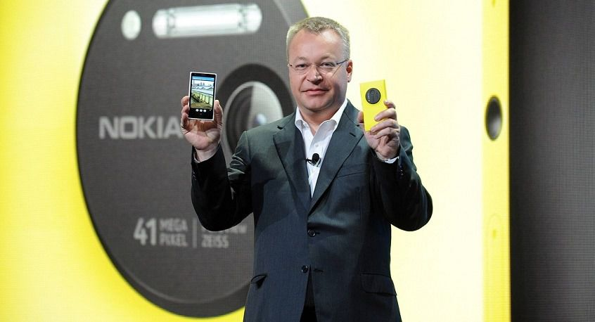 Элоп представляет смартфон Lumia 1020