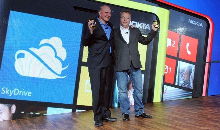 Фото с анонса Nokia Lumia 920 и Windows Phone 8