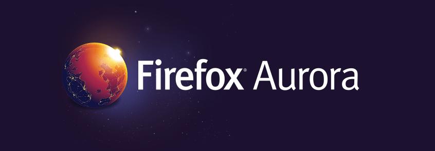 Firefox Aurora для Windows 8