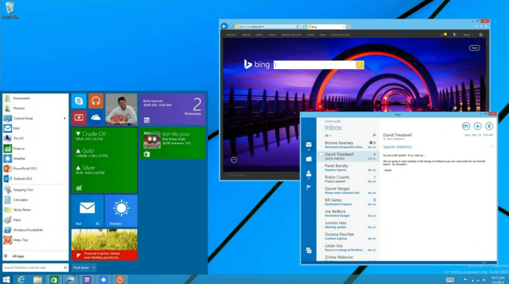 Menu Start in Windows 8!