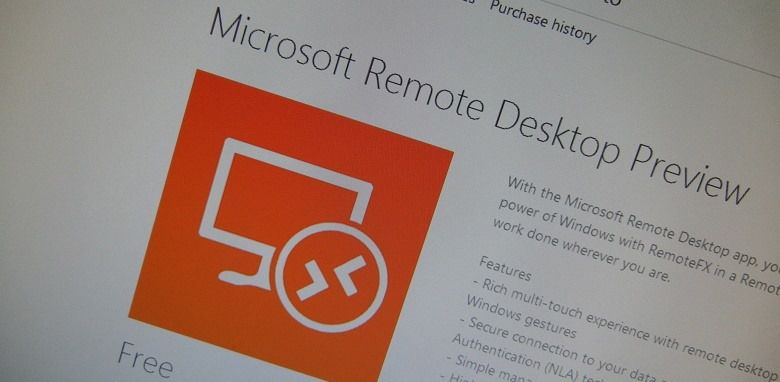 Remote Desktop для Windows Phone 8.1