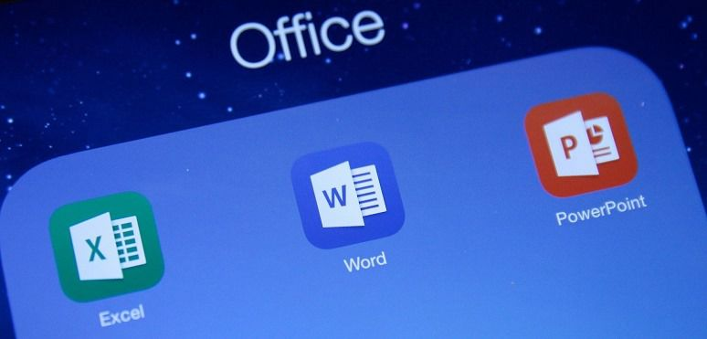 Touch Friendly Microsoft Office