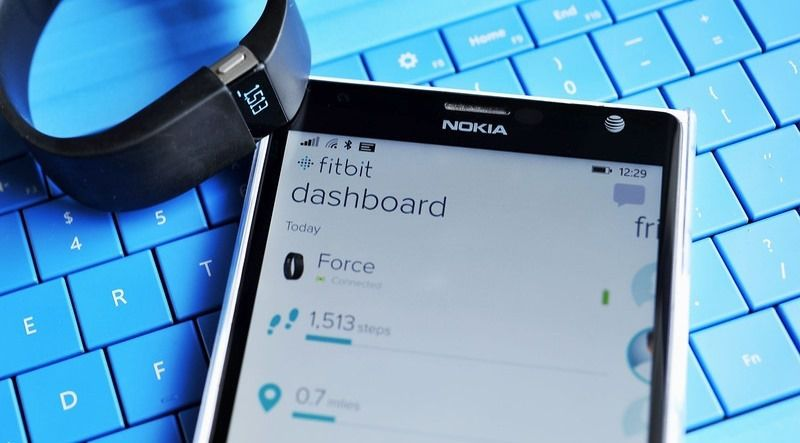 Fitbit for Windows Phone 8.1