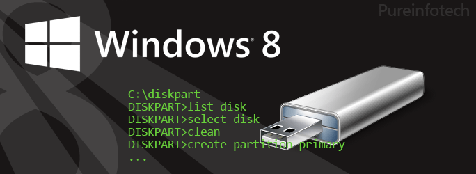 How to create a Windows 8 bootable USB using the Command Prompt