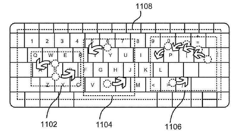 Microsoft keyboard Patent