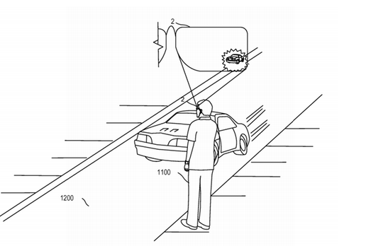 Patent-will-allow-smart-glasses-to-warn-the-user-if-a-car-poses-a-threat