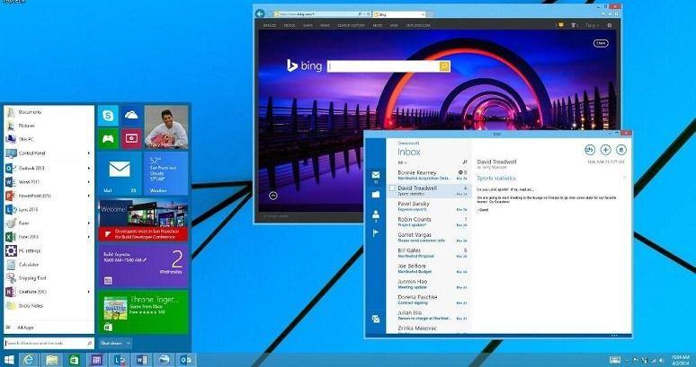 Start Menu Windows 9