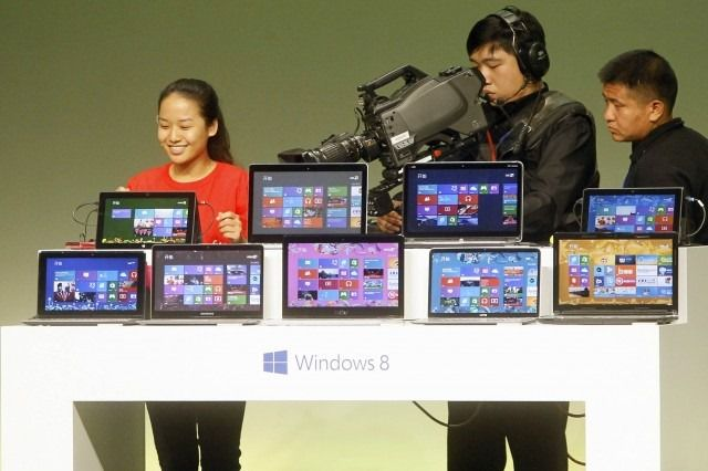Windows 8 in China