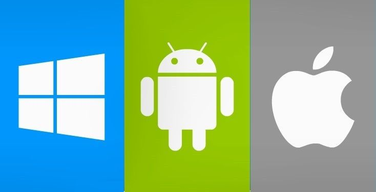Windows Android Apple