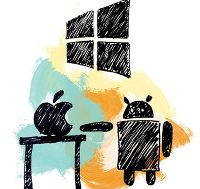 Android, Windows Phone and iOS