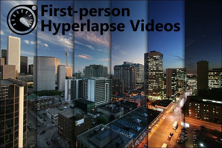 first-person hyperlapse