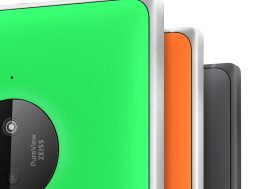 Nokia Lumia 830 design