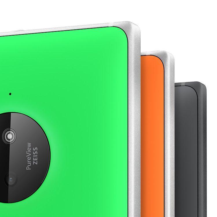 Nokia Lumia 830 design