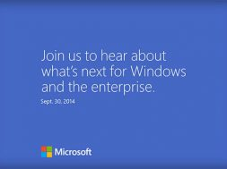 Windows 9 Event Invite