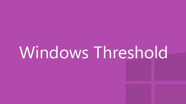 Windows 9 (Threshold)