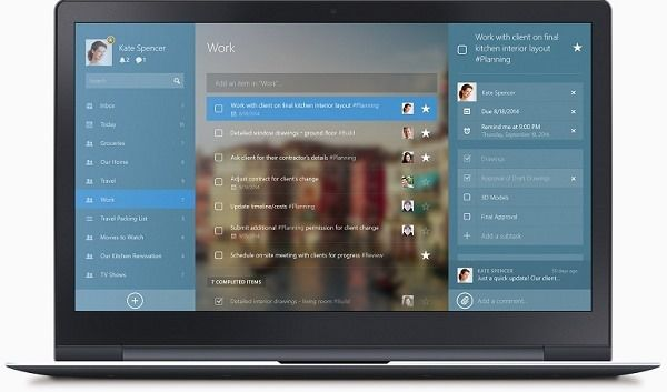 Wunderlist For Windows 8 and 8.1