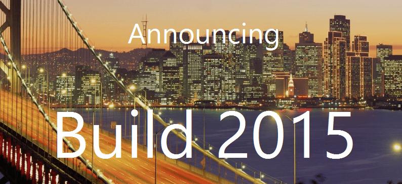 BUILD 2015