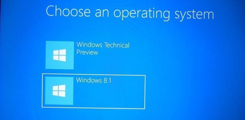 DUAL-BOOT WINDOWS 10 TECHNICAL PREVIEW USING VHDX